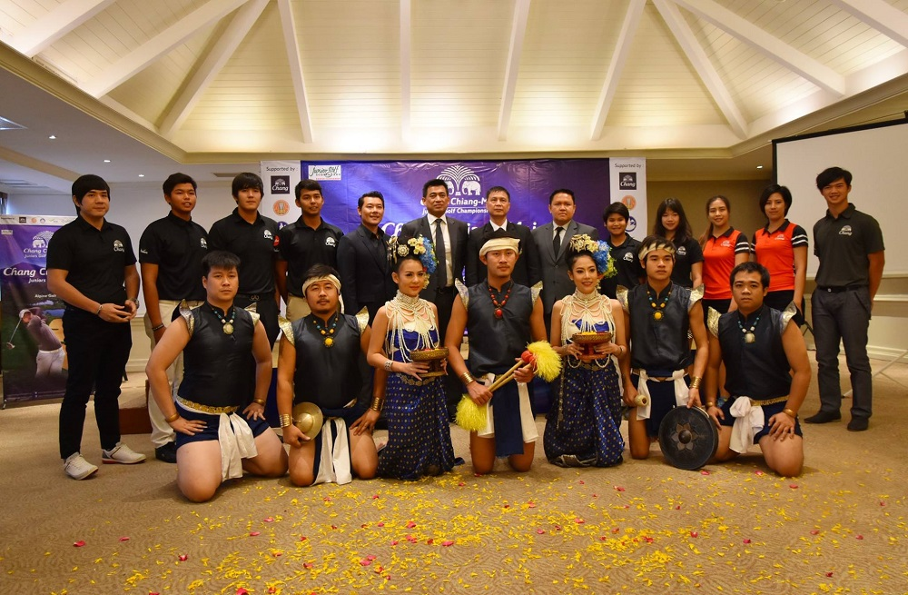งานแถลงข่าว Chang Chiang-Mai Junior Golf Championship