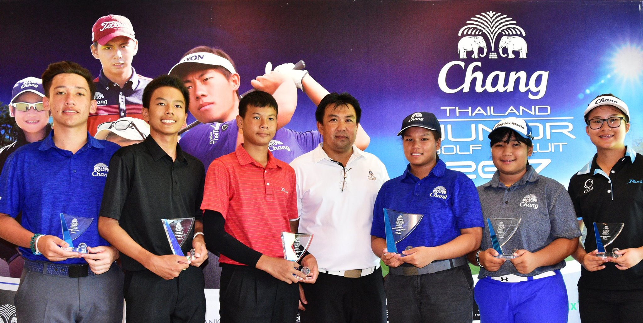 Chang Thailand Junior Golf Circuit 2017
