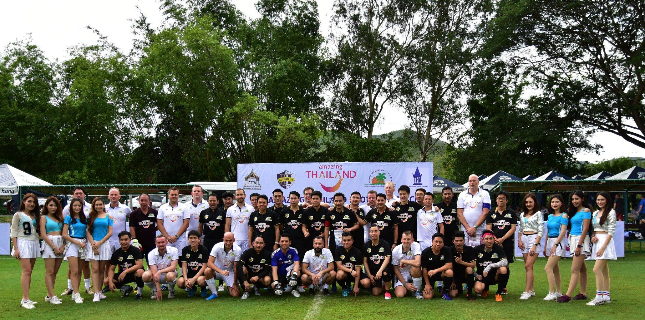 TTM AMAZING THAILAND FOOTBALL MATCH
