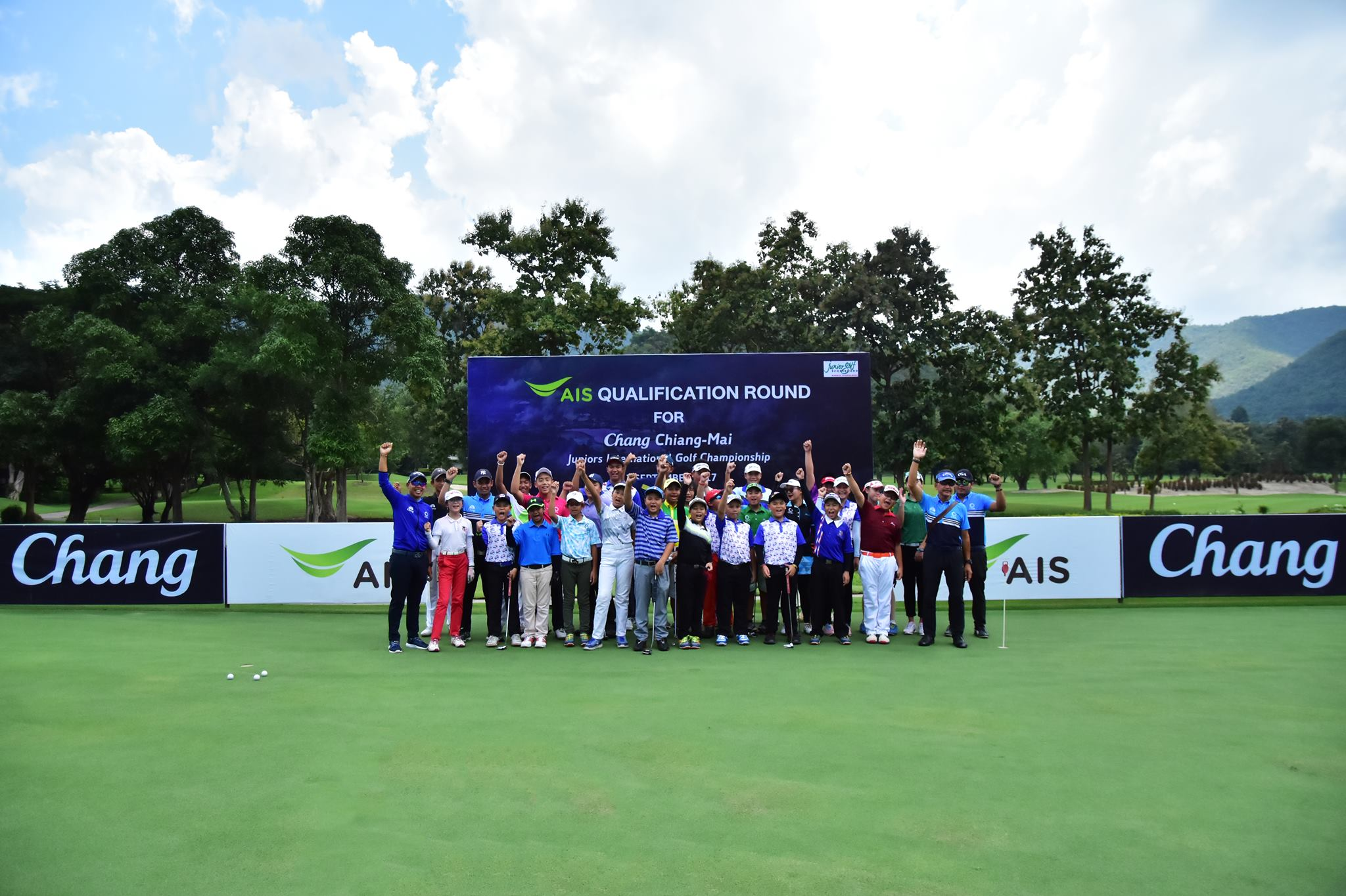 AIS Qualification Round For Chang Chiang-mai Juniors International Championship
