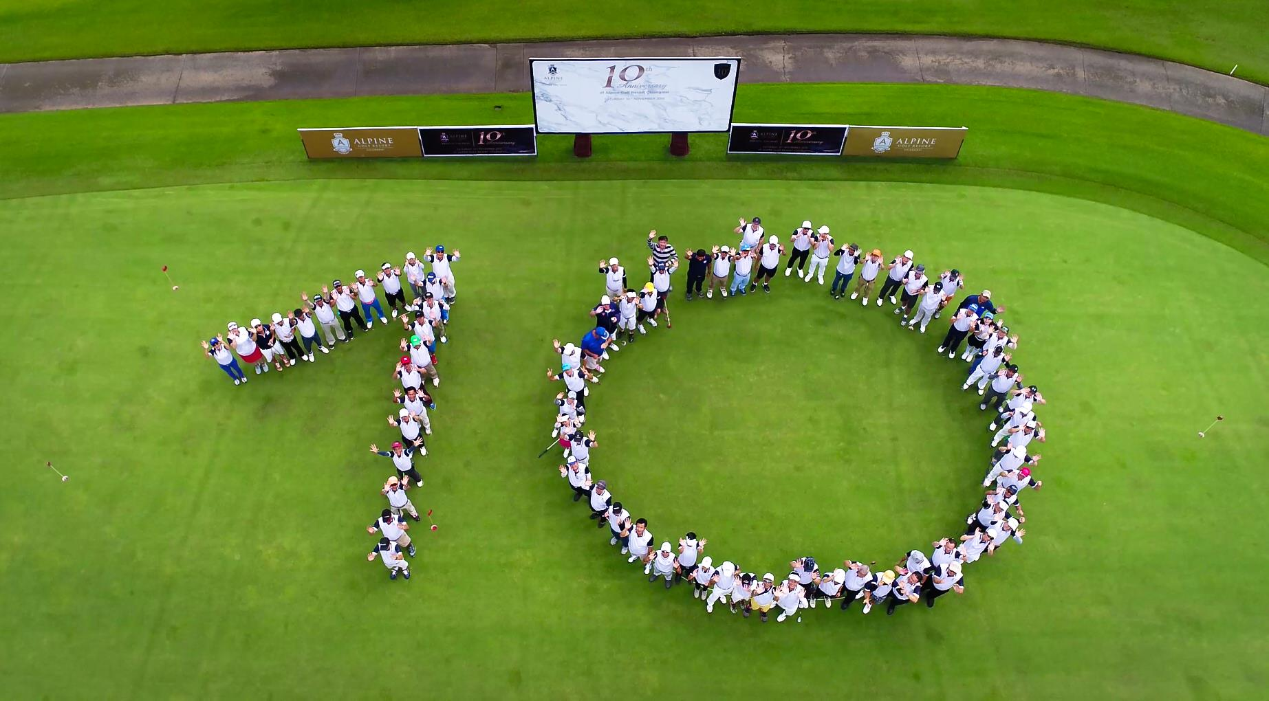 Alpine Golf Resort Chiangmai 10th Anniversary